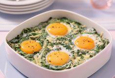 Versunkene Eier im Spinatnest | Rama