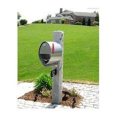 Spira Stainless Steel Small Post Mailbox