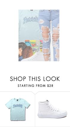 """""""Insecure[Jazmine Sullivan]"""" by maiyaxbabyyy ❤ liked on Polyvore featuring WithChic and Vans"""