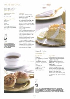 Revista bimby pt-s01-0006 - janeiro 2009 I Companion, Sweets Recipes, Desserts, Good Food, Yummy Food, Dutch Recipes, Happy Foods, What To Cook, Yummy Cakes