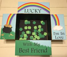 """""""Lucky I'm In Love With My Best Friend"""" St. Patrick's Day Care Package"""