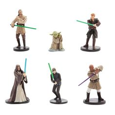 Amazon.com: Star Wars Jedi Figurine Set - Star Wars: Toys & Games