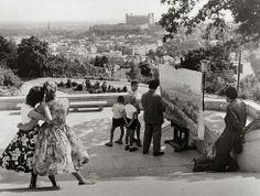 Ivan Kozáček: Captivated by beauty / Zaujaté krásou Bratislava Slovakia, European Countries, Hungary, The Past, Black And White, Artist, Photography, Painting, Life