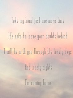 Our Last Night - home