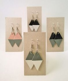A n n i e E l e a n o o r a: 1 8 0 ° #korvakorut #kierratys #earrings #upcycling