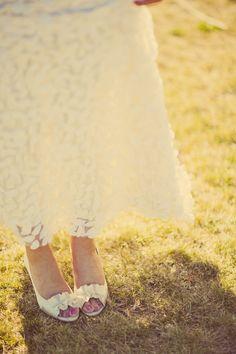Eyelit Lace Embroidered Flowers made this amazing gown   Summer Weddings Washington   Clane Gessel Photography #wedding #weddingdress #bridal #photography