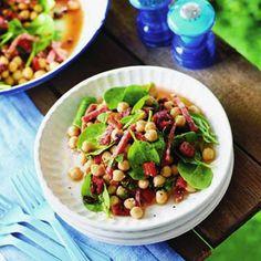 Une recette de salade express, riche en protéines et très légère.
