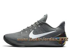 best website 5b080 6060b Nike Kobe A.D Cool Grey White 852425_010 Chaussures nike Pas cher Pour Homme  Grey