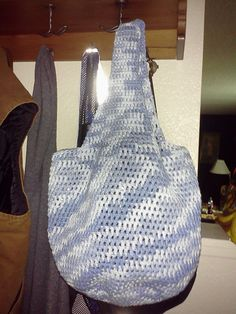 Simple Crochet Tote: Free Pattern