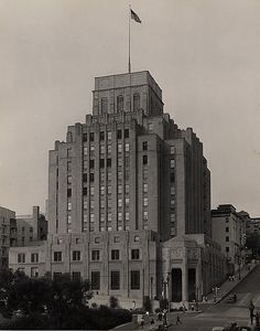 The Edison Building circa - noirish Los Angeles - Page 1306 - SkyscraperPage Forum California History, University Of Southern California, Types Of Architecture, Amazing Architecture, Baldwin Hills, Bunker Hill, City Of Angels, Downtown Los Angeles, New York Skyline