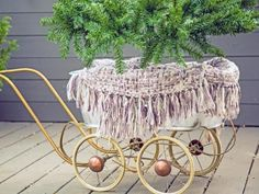 Give your mobile Christmas tree a different look for each room in the house with clever decorating ideas. From an outdoor room to the kitchen, each space can easily celebrate the holidays in style.