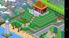 winning Simpsons Springfield, Springfield Tapped Out, Springfield Heights, The Simpsons Game, Planet Coaster, Design Inspiration, Design Ideas, Church Design, Clash Of Clans
