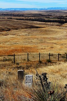 For a little history: Little Big Horn National Battlefield, Montana