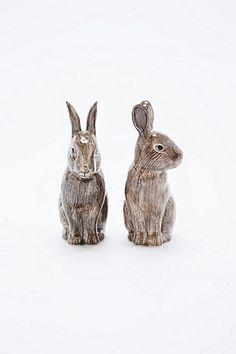 Ensemble salière et poivrière en forme de lapin sauvage - Urban Outfitters