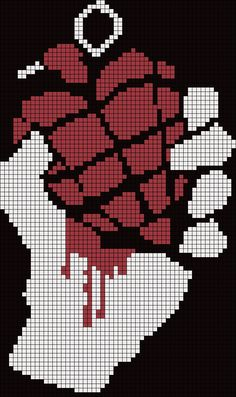 Added by yukisut on the of July, 2011 Pattern Drawing, Pattern Art, Cross Stitch Designs, Cross Stitch Patterns, Perler Bead Art, Perler Beads, Pixel Art Grid, Anime Pixel Art, Pix Art