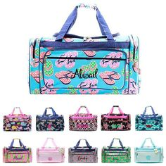 Extra Large 23 Personalized Duffel Bag
