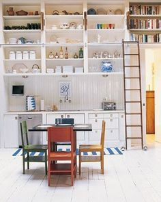 I want to add bookshelves for cookbook collection