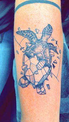 My turtle tattoo