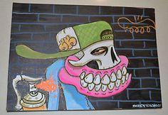 Street Art Painting by Sweet Toof #Streetart #Banksy #MrBrainwash