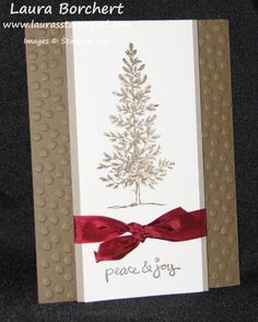 Lovely As A Tree by stampinandscrapboo - Cards and Paper Crafts at Splitcoaststampers