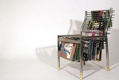 Стол с багажник / Chair with rack.