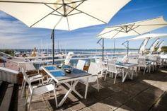 Sardiinid-ravintolan terassilta avautuu hieno näköala merelle, sijaitseehan ravintola Piritassa, joka on tunnettu hiekka- ja uimarannastaan sekä merellisyydestään. Sardiinid on oiva paikka rentoutua rauhassa ja  nauttia ruoasta. Menu vaihtelee kauden mukaan. #sardiinid #eckeröline #tallinna