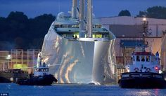 Meet the world's largest sailing yacht, owned by Russian billionaire Andrey Melnichenko.