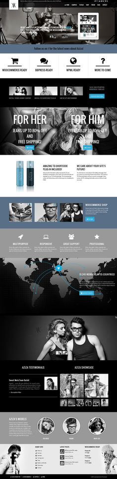 Aziza – Responsive Multipurpose WordPress Theme.  #best_wordpress_themes_2013