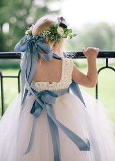 Shop variety of lace, ivory, tulle flower girl dresses. Our stunning and unique Dresses combine with quality and comfort will surely complement your big day. Simple Flower Girl Dresses, Tulle Flower Girl, Tulle Flowers, Unique Dresses, Flower Girls, Chic Wedding, Wedding Styles, Dream Wedding, French Blue Wedding