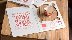 21 Inspiring and Creative Christmas Postcard Designs Creative Christmas Cards, Creative Cards, Christmas Shots, Christmas Invitations, Postcard Design, Graphic Design Inspiration, Daily Inspiration, Holiday Crafts, Blog