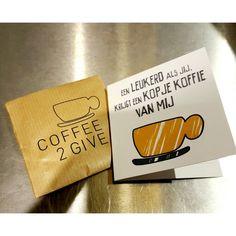 Een uitgestelde koffie! Heb jij wel eens een koffie cadeau gedaan? Wat een prachtig initiatief en doe hier vooral aan mee. Zie de website / Shopping Guide Top 3 voor alle info