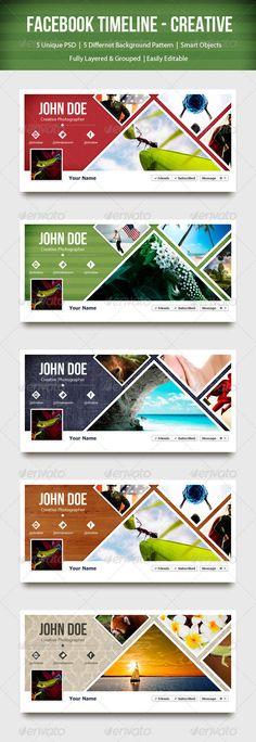 #Facebook Timeline - Creative cover design