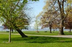 Matthiessen Park overlooking the Hudson River in #Irvington , New York #Westchester County
