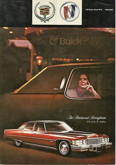 1974 Cadillac Buick Japan Catalog