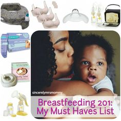Breastfeeding Must Haves List My list of all favorite items to get your breastfeeding journey off to a strong start!
