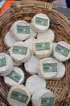 Queso de leche cruda o pasteurizada (Lo elaboran de las dos formas) de cabra de la Formatgeria Camps, (Palau d'Anglesola) Catalonia