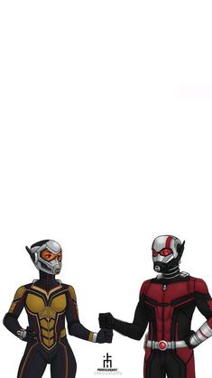 Ant Man and the Wasp teaming up - Marvel Universe Drawing Cartoon Characters, Marvel Characters, Cartoon Drawings, Marvel Art, Marvel Heroes, Marvel Avengers, Evangeline Lily, Vespa, Spiderman