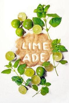"""Rezept für Limeade mit Rohrzucker und Zitronenmelisse - """"Fee ist mein Name"""""""