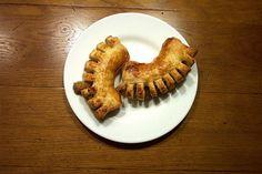 Hazelnut pastries