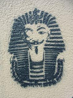 Art for Change - Arabic Graffiti and Egyptian Street Art in Frankfurt * by Sterneck, via Flickr 000