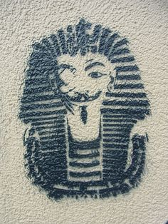 Art for Change - Arabic Graffiti and Egyptian Street Art in Frankfurt * by Sterneck, via Flickr 000