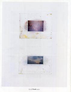 Gerhard Richter Wolken Clouds 1970 66.7 cm x 51.7 cm Atlas Sheet: 213