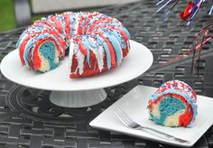 I first made this patrioticRed, White, and Blue BundtCake two years ago for the 4th of July, and it has been a big hit ever since. I use the same basic recipe for each holiday, and switch up the colors to match the theme. Orange, purple and browns for the fall, green & red for …
