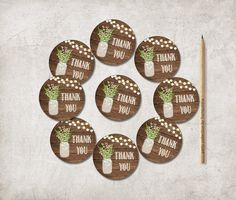 This listing is for instant download, printable THANK YOU Tags - Favor Tags - Gift Bag Tags.  You can print them on: - standard 8.5x11 (letter size)