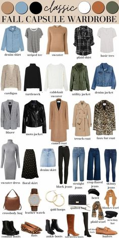 Fall Capsule Wardrobe, Capsule Outfits, Fashion Capsule, Mode Outfits, Fall Wardrobe Essentials, Winter Wardrobe, Fall Travel Wardrobe, Fall Wardrobe Basics, Minimalist Wardrobe Essentials