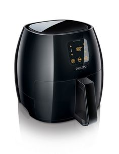 Philips has launched a new model of its successful Airfryer kitchen appliance, which can fry food using very little oil.The Philips Avance Airfryer XL Philips Airfryer Xl, Specialty Appliances, Kitchen Appliances, Small Appliances, Table Grill, Best Air Fryer Review, Phillips Air Fryer, Air Fryer Deals, Large Air Fryer