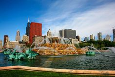 Chicago is Taking the Waste out of Wastewater for Eco-friendly Use Buckingham Fountain, Natural Mineral Water, Puzzle Of The Day, Grant Park, Picnic Spot, Adventure Bucket List, Travel Around Europe, Chicago Skyline, Future City