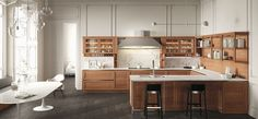 Heritage kitchen presented at Eurocucina 2016