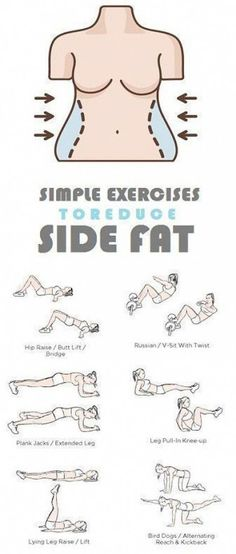 How to Get Rid of Side Fat and Love Handles Fast At Home. Try these Exercises for Side Fat Today and Lose 10 Pounds in 2 weeks. How to Get Rid of Side Fat and Love Handles Fast At Home. Try these Exercises for Side Fat Today and Lose 10 Pounds in 2 weeks. Fitness Workouts, Fitness Motivation, Easy Workouts, At Home Workouts, Workout Routines, Workout Ideas, Workout Plans, Side Workouts, Fitness Quotes