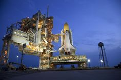 Space Shuttle Atlantis at the Launch Pad - STS-135   Credit: NASA/Terry Zaperach